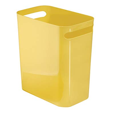 InterDesign Una Wastebasket Trash Can 12